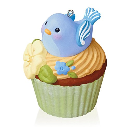 Nest Sweet Nest Keepsake Cupcake Ornament 2015 Hallmark