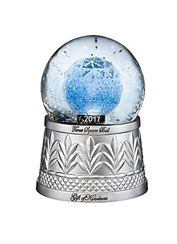 Waterford Holiday Heirloom 2017 Times Square Snowglobe