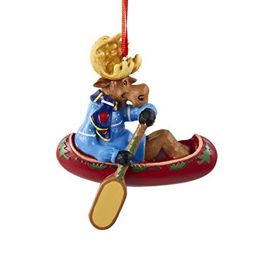 Kurt Adler 3.5″ Resin Moose Family Ornament