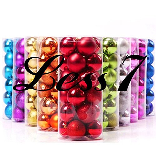 CYNDIE Hot Sale New New 24pcs Christmas Balls Baubles Xmas Tree Hanging Ornament Xmas Decor Best Price Gift