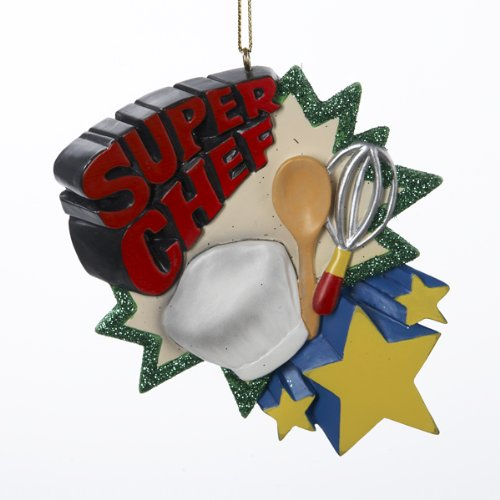 "Kurt Adler ""Super Chef"" Christmas Ornament"
