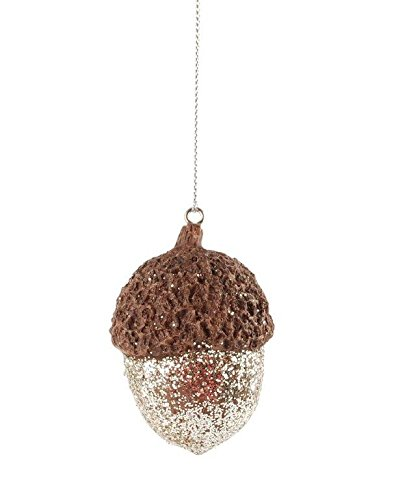 Blossom Bucket Acorn Christmas Ornament Christmas Decor, 1-1/2 L by 2-1/2″ H