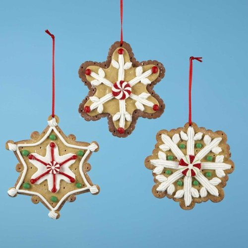 CLAYDOUGH GINGERBREAD COOKIE ORNAMENT