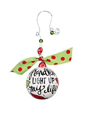 Glory Haus Grandkids Light Up My Life Ball Ornament, 4.5″