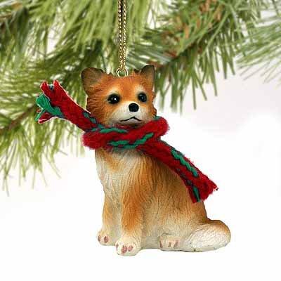 Chihuahua Miniature Dog Ornament – Longhair