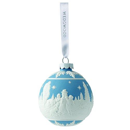 Wedgwood Building A Snowman, Blue
