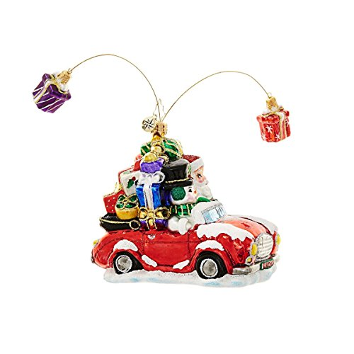 Gifts Are Poppin' Ornament by Christopher Radko