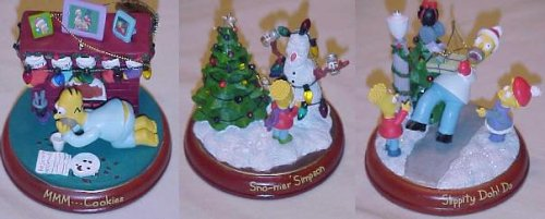 Simpsons Second Issue Illuminated Christmas Ornament Collection