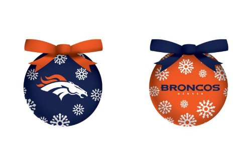 Denver Broncos Official NFL LED Box Set Ornaments