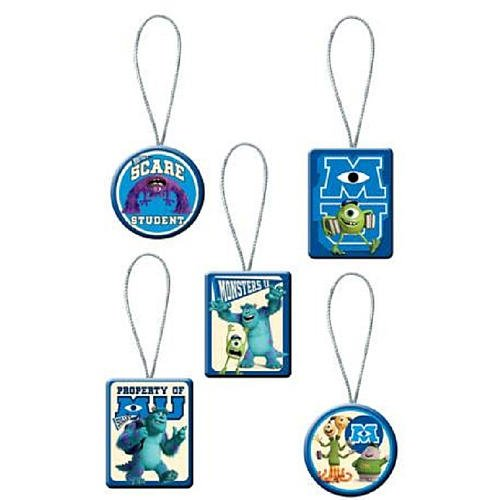Monsters University 5 Piece Christmas Ornament Set