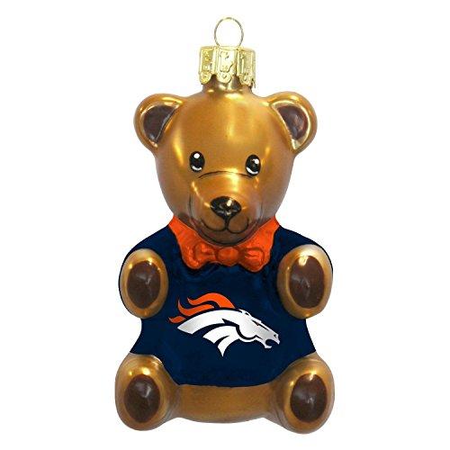 The Boelter Companies 136-DENBRO Teddy Bear Ornament – Denver Broncos