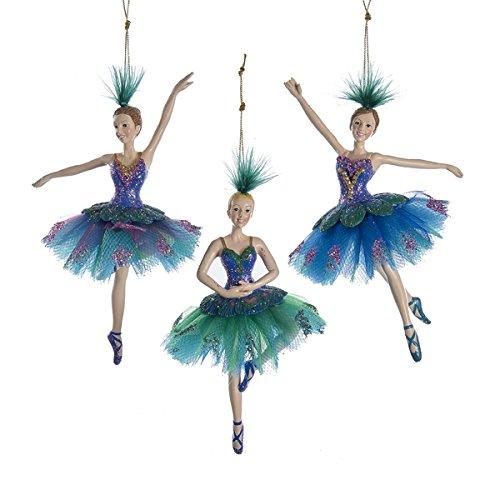 Kurt Adler 6″ Peacock Ballerina Ornament