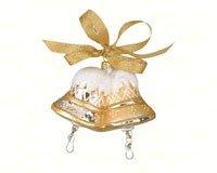 Cobane Studio LLC COBANEB253 Merry Bells Gold Ornament