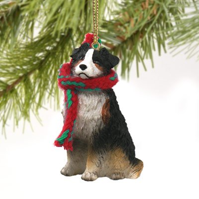 Conversation Concepts Australian Shepherd Tricolor w/Docked Tail Original Ornament