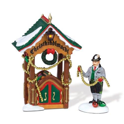 Department 56 Alpine Village Christmas Market Ornament Booth