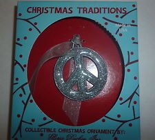 Gloria Duchin Ornament – Peace Sign