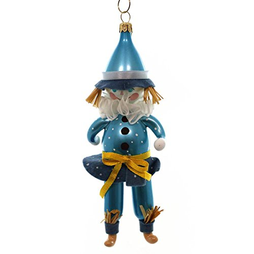 De Carlini SCARECROW FIGURE Blown Glass Ornament Wizard Of Oz OM4225