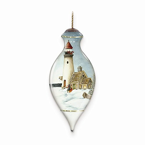 Neqwa Art Light Of Christmas Hand-painted Ornament