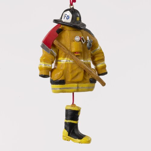 RESIN FIREMAN DRESS ORNAMENT – Christmas Ornament