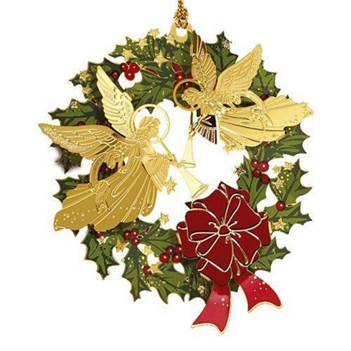 ChemArt Angel Wreath Ornament by Baldwin