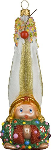 Glitterazzi Gnome Sweet Gnome Angel Ornament by Joy to the World