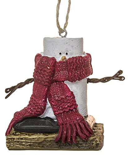 S'Mores Big Scarf Christmas/ Everyday Ornament