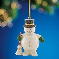 Lenox Sweepy Snowman Ornament