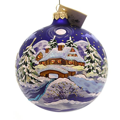 Christina's World VAN GOGH WINTER Glass Ornament Ball Win666