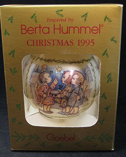 Berta Hummel 1995 Glass Ball Ornament Heavenly News Annual Edition
