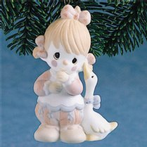 "Precious Moments Girl Clown ""Waddle I Do Without You"" Ornament"