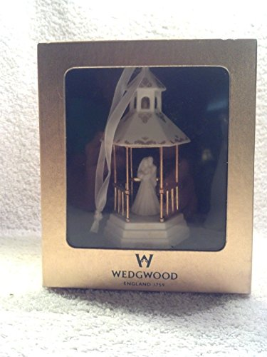 WEDGWOOD 2002 OUR FIRST CHRISTMAS TOGETHER-GAZEBO