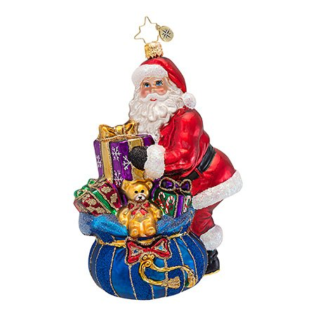 Christopher Radko – A Gift for You – Heirloom Collectable Christmas Ornament by Christopher Radko