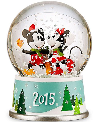 Disney Mickey Mouse 2015 Mickey Mouse & Minnie Mouse Snowglobe Snowglobe