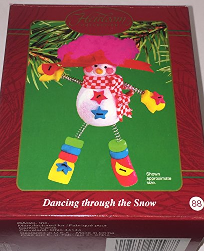 Carlton Cards/ American Greetings Ornament Dancing Through the Snow