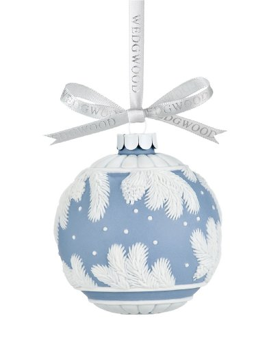 Wedgwood Pine Cone Ball Ornament