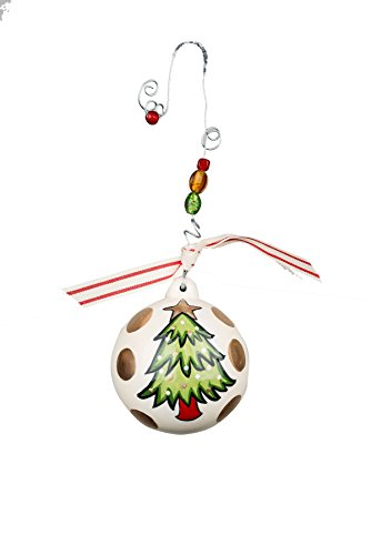 Glory Haus Most Wonderful Time of Year Ball Ornament, 4.5″