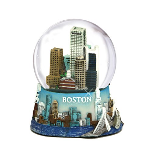 3.5 Inch Boston Snow Globe Souvenir from Massachusetts in and the Boston Snow Globes Collection.