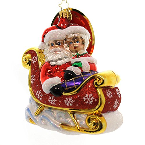 Christopher Radko Let's Go Fo a Ride, Darling! Christmas Ornament