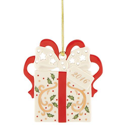 Lenox 2016 Joyous Tidings Present Ornament