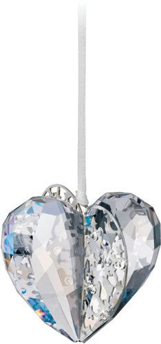 Swarovski Crystal Moonlight Christmas Ornament Heart