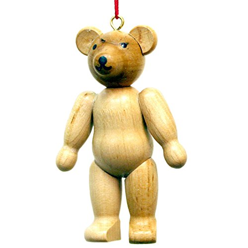 Christian Ulbricht Teddy Bear Christmas Ornament