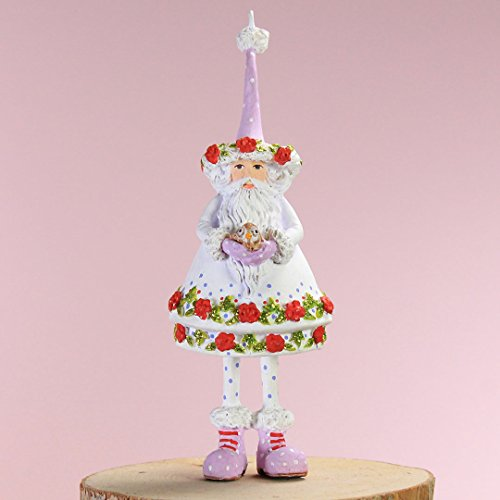 Patience Brewster Mini Woodland Santa Ornament