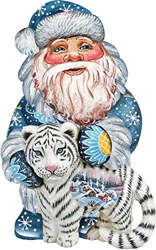 G. Debrekht Tiger Santa Deco Ornament