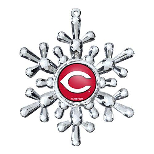 MLB Cincinnati Reds Snowflake Ornament