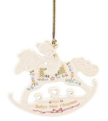 Lenox Exclusive 2015 Annual Baby's First Rocking Horse Ornament