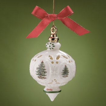 Spode Christmas Tree Signature Ornament 2003 Traditional Ornament
