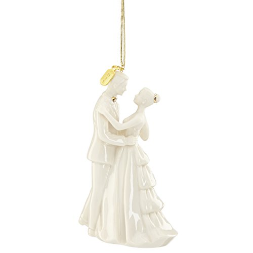 "Lenox 2016 ""Always and Forever"" Bride and Groom Ornament"