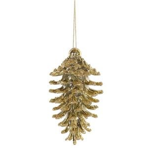 Vickerman 35″ Champagne Pine Cone Ornament 6 per Box