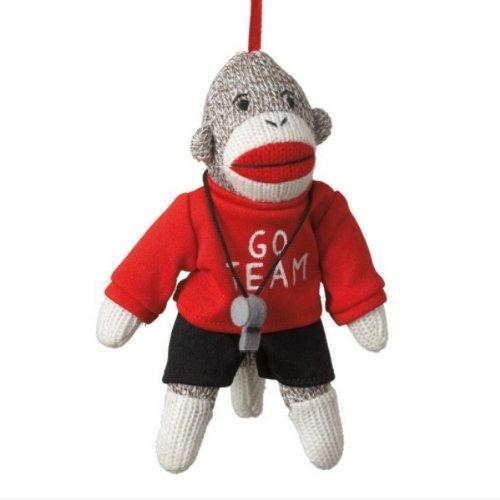 Coach Sock Monkey Ornament