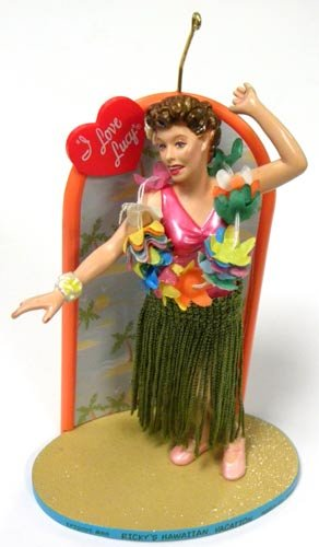 I Love Lucy – Ricky's Hawaiian Vacation Carlton Cards Christmas Ornament